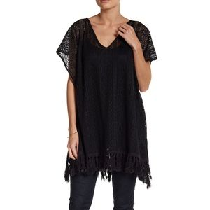 NWT Melrose and Market Crochet Fringe Dress